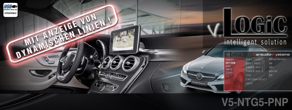 Kamera Interface für MERCEDES Audio20 und Comand Online NTG5 / NTG5.1