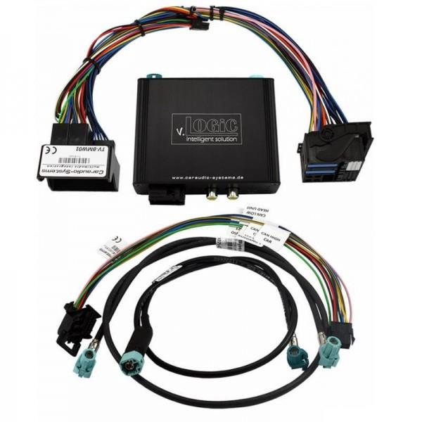 Kamera Interface v.LOGiC V5 für BMW der E-Serie mit CIC Navi/Radio PNP