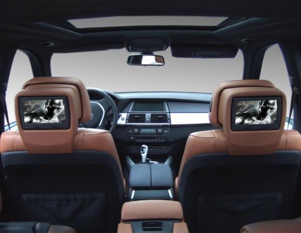 BMW X6 e71 Rear Seat Entertainment System