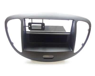 Radioblende 1- & 2-DIN, HYUNDAI i10 2008-, schwarz