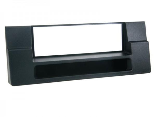 Radioblende mit Fach BMW 5er (E39) / X5 (E53) schwarz