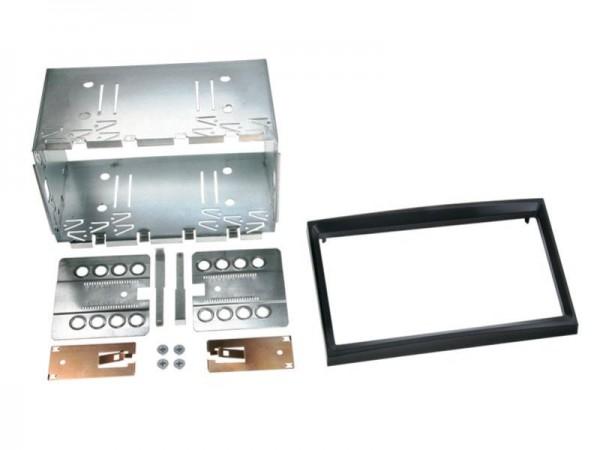 Doppel Din Radioblende Citroen / Peugeot / Fiat / Toyota Klavierlack