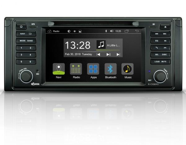 Radical R-C10BM3 Fahrzeugspezifischer Android Infotainer für BMW 5er e39