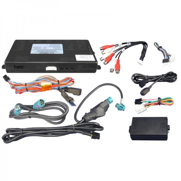 Videoeinspeiser (kein Ton) für MB Comand Online NTG4.5 (nur Automatik),Audio20