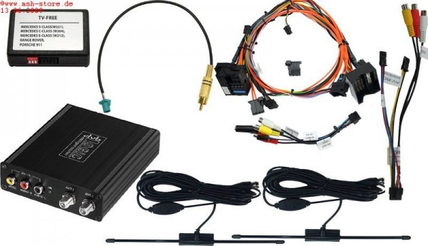 Mercedes DVB-T Set ( NTG 2 ) DVB-Logic
