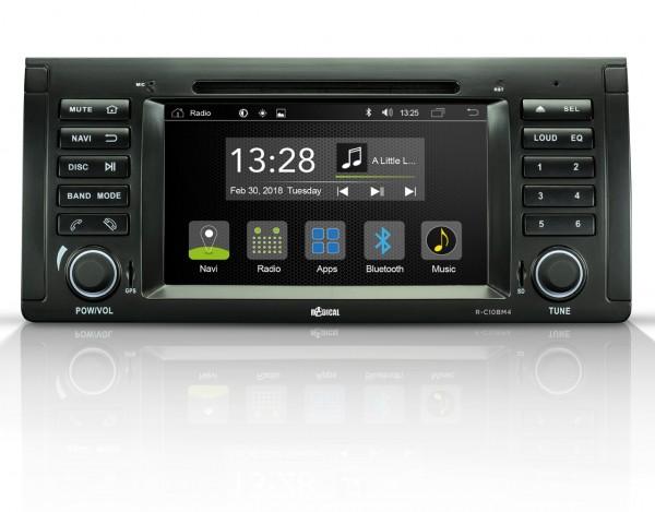 Radical R-C10BM4 Fahrzeugspezifischer Android Infotainer für BMW X5 e53