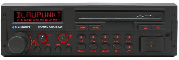 Blaupunkt BREMEN SQR 46 DAB 1DIN Youngtimer mit DAB + Bluetooth + SD