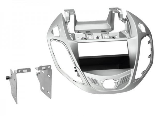 Doppel Din Radioblende mit Fach Ford B-Max 11/2012 > nestor silber