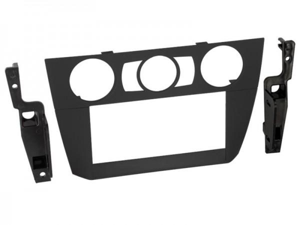 Doppel Din Radioblende BMW 3er (E90) 2006-2014 schwarz