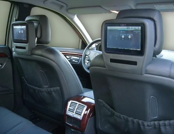 Mercedes S-Klasse Rear Seat Entertainment System