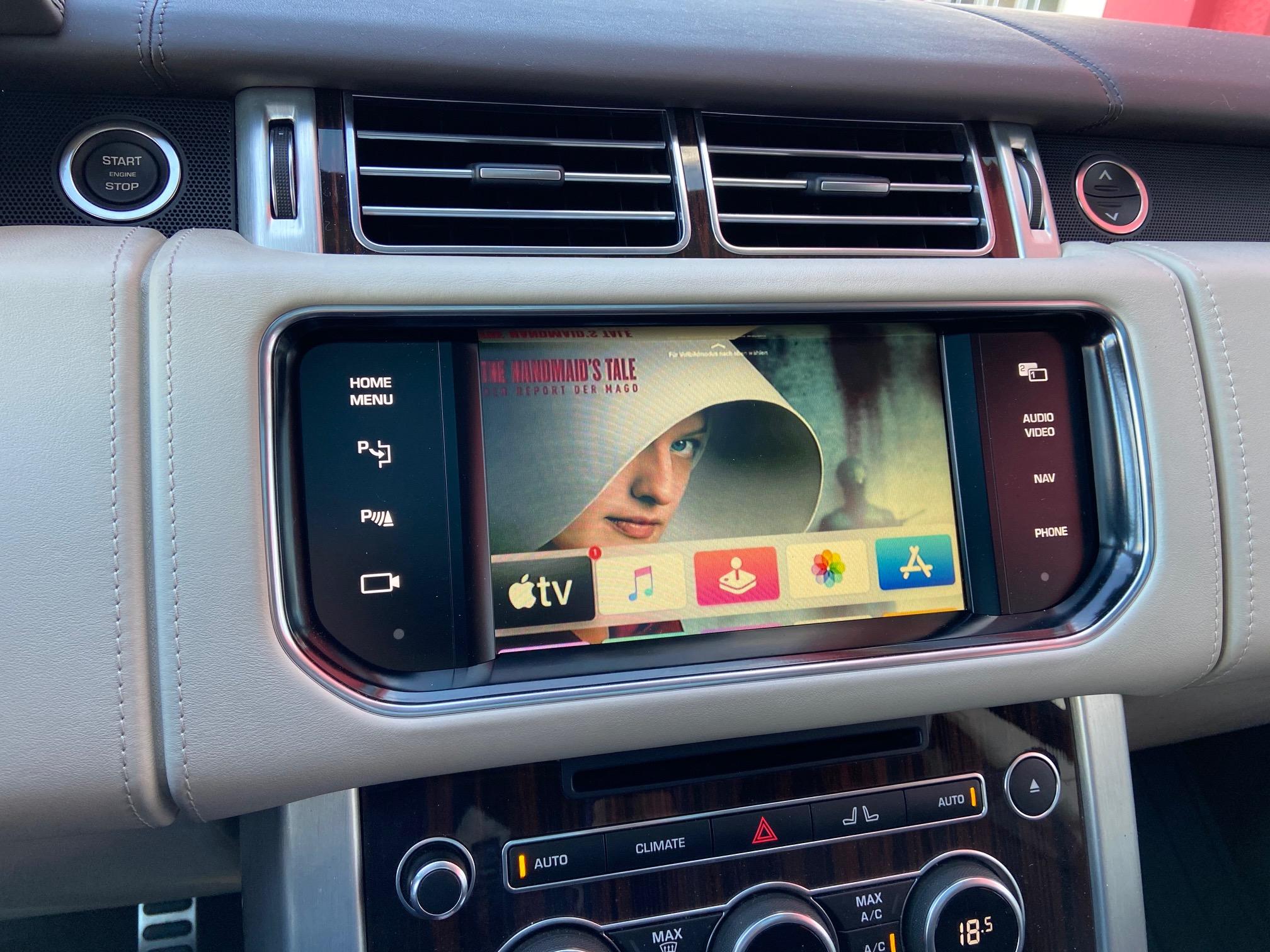 Range-Rover-Videofreischaltung
