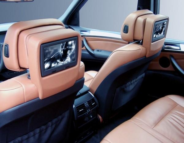 BMW X5 e70 Rear Seat Entertainment System