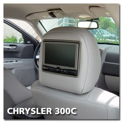 Chrysler 300C Rear Seat Entertainment Set