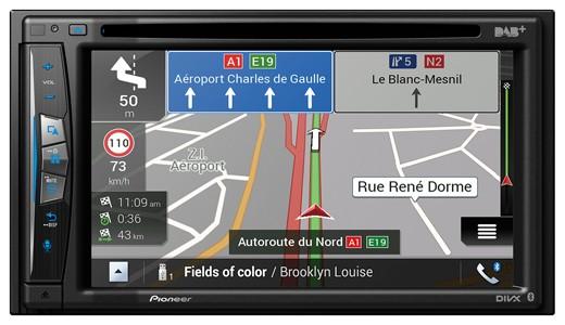 PIONEER AVIC-Z720DAB Multimedia Navigation 2-DIN