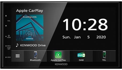 KENWOOD DMX-5020DABS Mediaceiver 2-Din mit DAB+ BT
