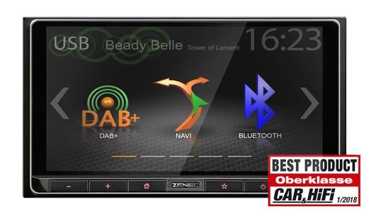ZENEC Z-N426 Naviceiver mit DAB+ und Smartlink