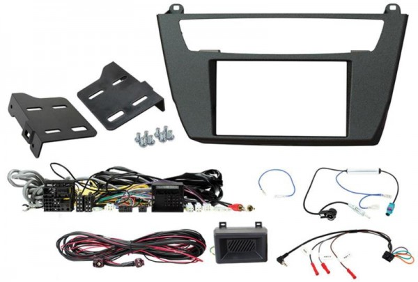 2-DIN Kit BMW 1er/2er (Lenkrad Fernbedienungsadapter-Adapter)