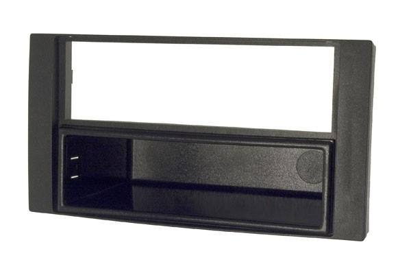 Einbaurahmen 3-teilig, ABS schwarz