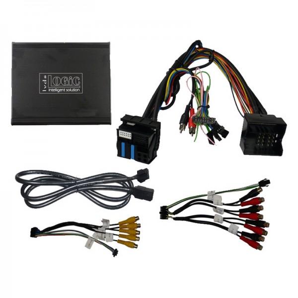 v.LOGiC V4 Komplettpaket für BMW E-Serie/Mini mit Navigation/Radio und 6.5 Monitor