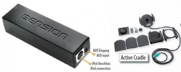 BMW Gateway 100 Ipod Mp3 set ( Active Cradle )
