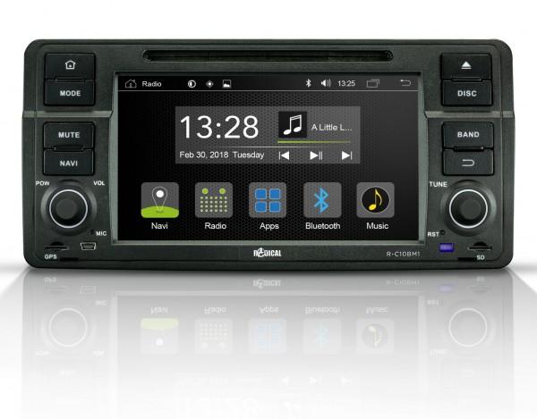 Radical R-C10BM1 Fahrzeugspezifischer Android Infotainer für BMW 3er e46