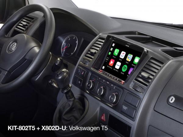 VW T5 Alpine X803D-U - T5 / T6 Komplettset Navigationssystem