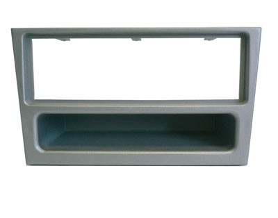Radioblende 1-DIN OPEL Astra G, Corsa C, chrome/metallic