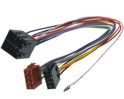 ISO-ISO (Strom & LS) 1:1 Verlängerung für OPEL, 30 cm