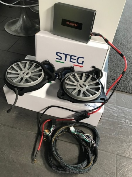 Mercedes C-Klasse W205 Soundsystem Steg DSP Version