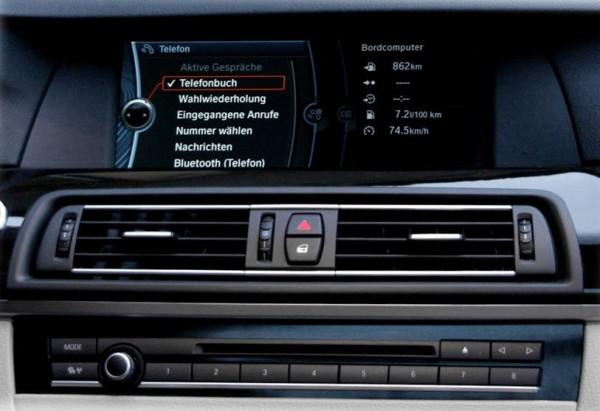 KUFATEC FISCON für BMW Pro F-Serie mit USB Schnittstelle in Armlehne
