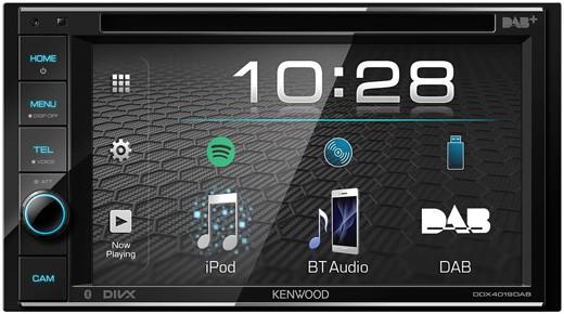 KENWOOD DDX4019DAB Moniceiver 2-Din mit Bluetooth