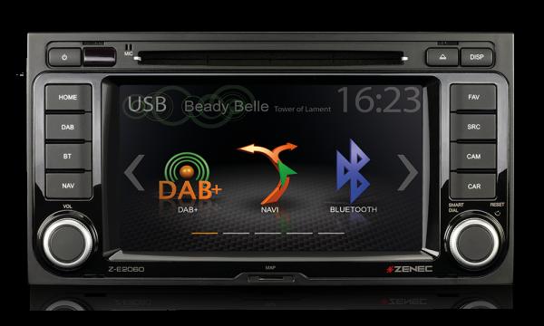Zenec Z-E2060 Radio für VW T5