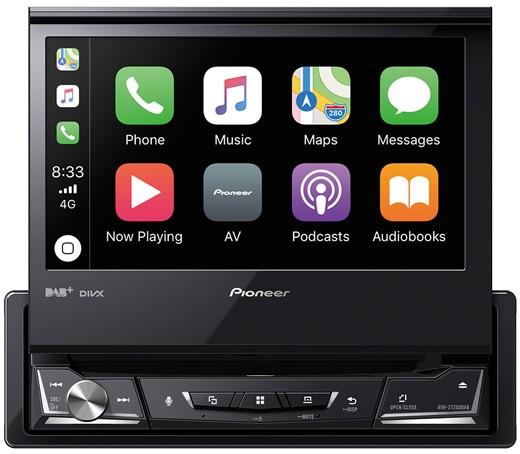 PIONEER AVH-Z7200DAB 1-DIN CarPlay Android Auto