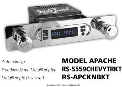 "RETROSOUND Autoradio Model One ""Chrom"""