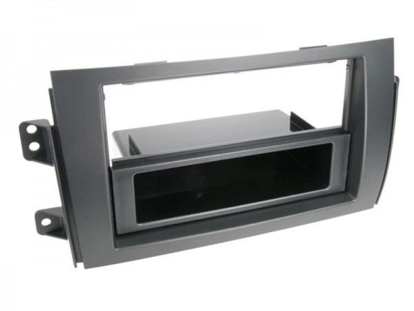 Doppel Din Radioblende mit Fach Sedici / Suzuki SX4 2006 > schwarz
