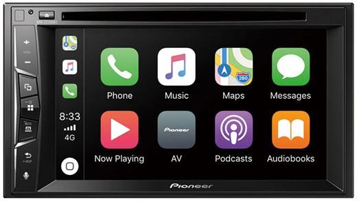 PIONEER AVH-Z2200BT 2-DIN Moniceiver mit Bluetooth