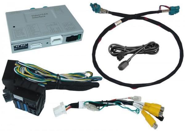 Rückfahrkamera Set für BMW NBT 2 mit Touch und Nicht-Touch Monitor