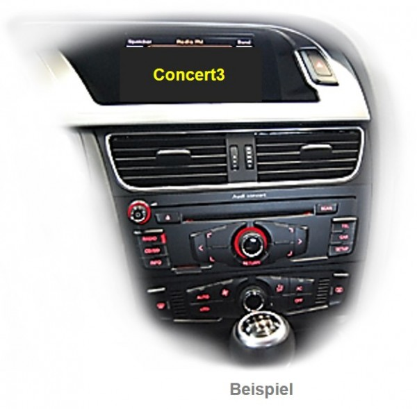 Rückfahrkamera Interface für Audi mit Concert 3 Radio