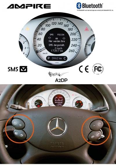 Bluetooth Freisprecheinrichtung für Mercedes