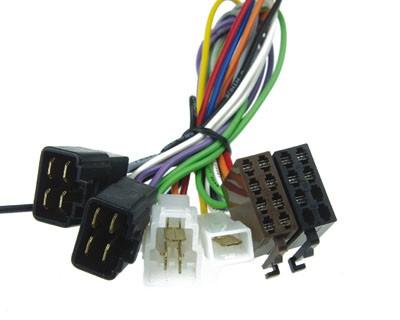 KFZ-spezifischer Adapter ISO auf KIA