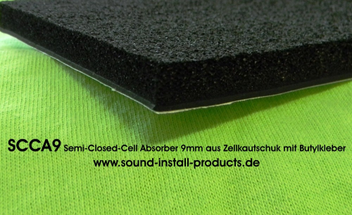 SCCA9 Semi-Closed-Cell-Absorber 9mm