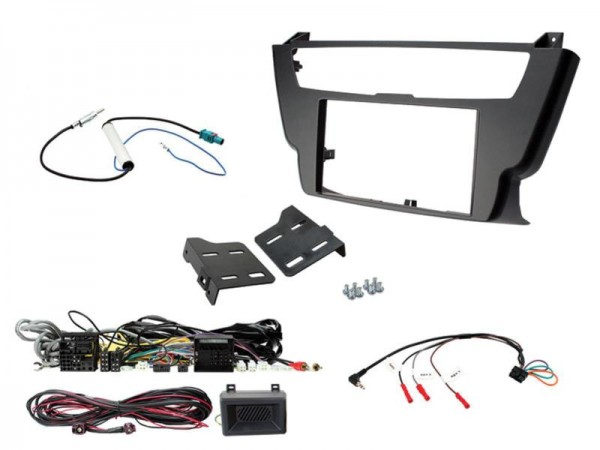 2-DIN Kit BMW (Lenkrad Fernbedienungsadapter-Adapter) 3er/4er 2012 > 2016