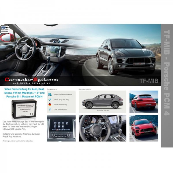 TV-Freischaltung für VW MIB High Golf7, AUDI A3 mit MIB High