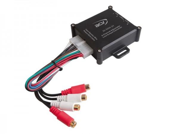 Premium High-Level Adapter 4-Kanal mit Remote