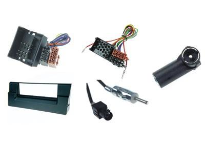 Radio-Einbausatz 1-DIN für BMW 5er E39