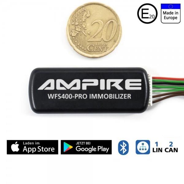 AMPIRE CAN/LIN-Bus Wegfahrsperre mit BT, App, Code (U333_77_12)