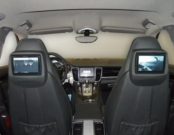 Porsche Panamera Rear Seat Entertainment System