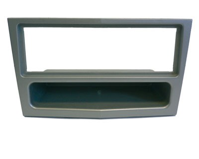 Radioblende 1-DIN OPEL Astra H, Corsa D, Zafira B, chrome/metallic