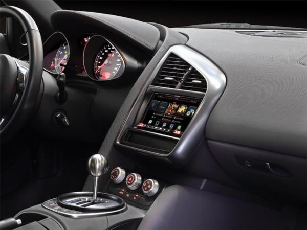 Doppel Din Radioblende Audi R8 (42) 2006->2015 schwarz