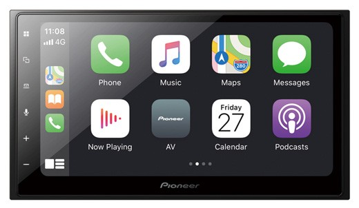 PIONEER SPH-DA250DAB 2-DIN DAB+ CarPlay Appradio
